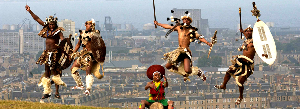 Edinburgh-festival-performers